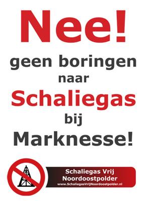 Geen boringen naar schaliegas in Marknesse