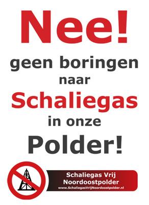 Geen boringen naar schaliegas in onze polder