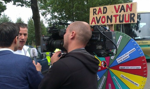 RTL4 interviewt Hubèr